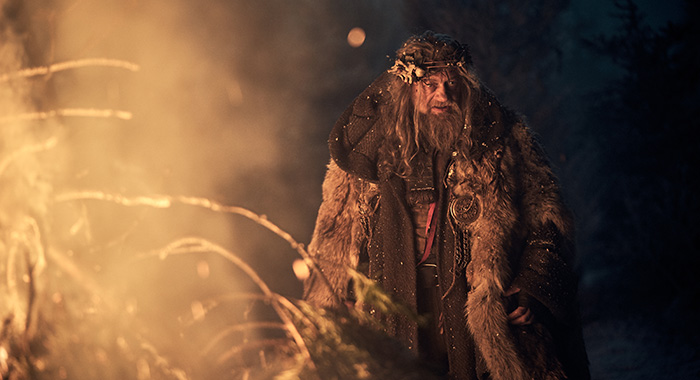 A CHRISTMAS CAROL -- Pictured: Andy Serkis as Ghost of Christmas Past. CR: Robert Viglasky/FX