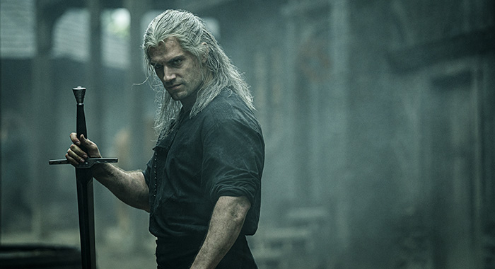 Henry Cavill as Geralt of Rivia in The Witcher (Netflix)
