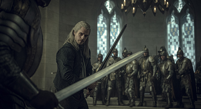 The Witcher, Henry Cavill as Geralt of Rivia (Netflix)