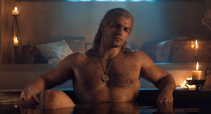 The Witcher trailer screencap (Netflix)