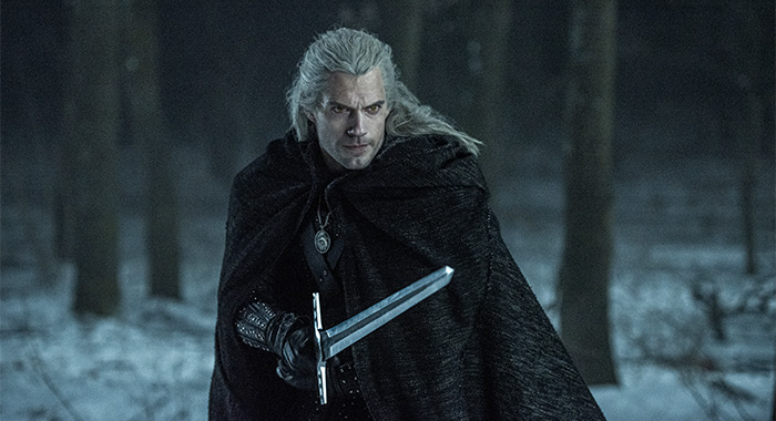 Henry Cavill as Geralt in The Witcher (Katalin Vermes/Netflix)