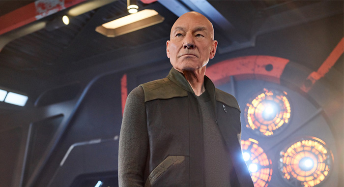 Pictured: Sir Patrick Stewart as Jean-Luc Picard of the CBS All Access series STAR TREK: PICARD. Photo Cr: James Dimmock/CBS ©2019 CBS Interactive, Inc. All Rights Reserved.