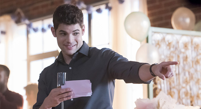 "Supergirl -- ""Far From The Tree"" -- SPG303a_0292.jpg – Pictured: Jeremy Jordan as Winn Schott-- Photo: Dean Buscher/The CW -- © 2017 The CW Network, LLC. All Rights Reserved"