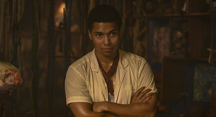 Chance Perdomo as Ambrose Spellman in Chilling Adventures of Sabrina Part 3 (Netlfix)