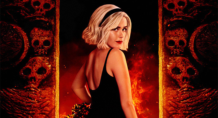 Chilling Adventures of Sabrina Part 3 keyart Kiernan Shipka (Netlfix)