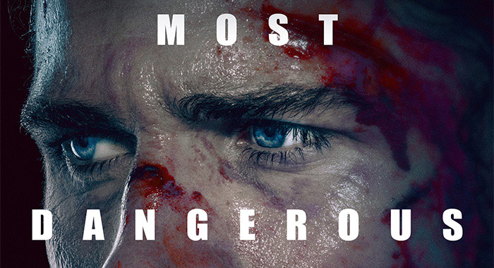 Liam Hemsworth in MOST DANGEROUS GAME poster (Quibi)
