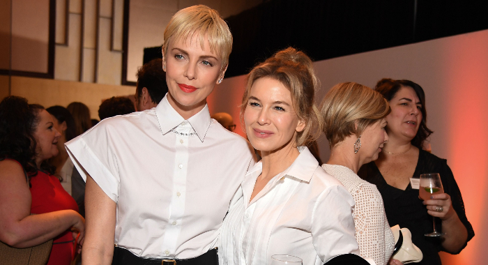 Charlize Theron and Renee Zellweger.
