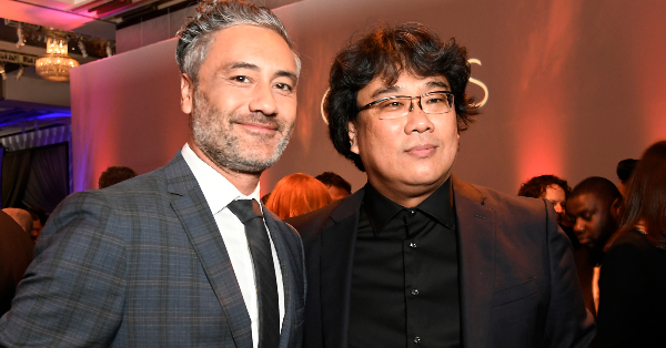 <em>Parasite&#8217;</em>s Bong Joon-ho Is Class Favorite at the 2020 Oscar Nominees Luncheon