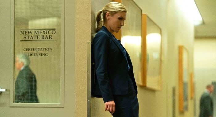 Rhea Seehorn as Kim Wexler - Better Call Saul _ Season 5 - Photo Credit: Warrick Page/AMC/Sony Pictures Television