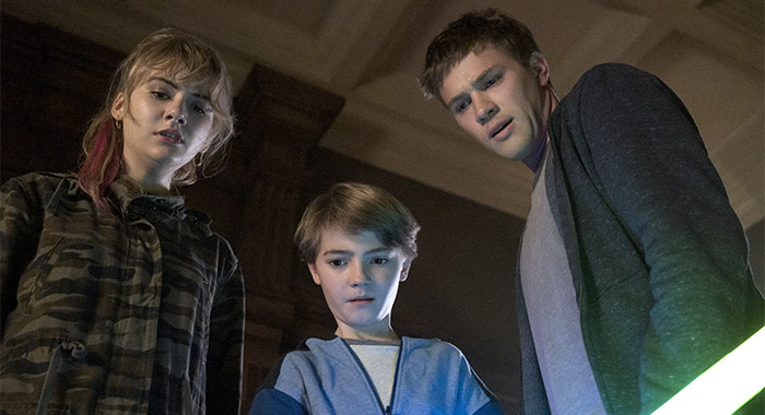 Locke & Key SEASON 1 EPISODE 10 PHOTO CREDIT Christos Kalohoridis/Netflix PICTURED Emilia Jones, Jackson Robert Scott, Connor Jessup