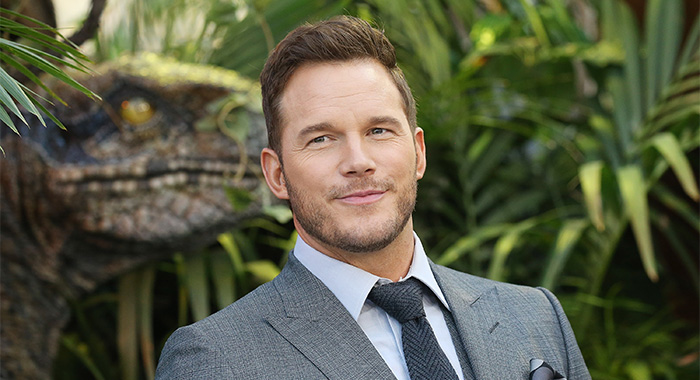 "LOS ANGELES, CA - JUNE 12: Chris Pratt arrives to the Los Angeles premiere of Universal Pictures and Amblin Entertainment's ""Jurassic World: Fallen Kingdom"" held at Walt Disney Concert Hall on June 12, 2018 in Los Angeles, California. (Photo by Michael Tran/FilmMagic)"