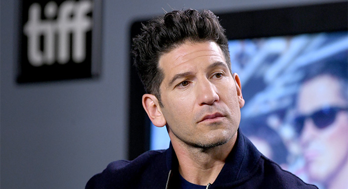 "TORONTO, ONTARIO - SEPTEMBER 10: Jon Bernthal attends the ""Ford v Ferrari"" press conference during the 2019 Toronto International Film Festival at TIFF Bell Lightbox on September 10, 2019 in Toronto, Canada. (Photo by Kevin Winter/Getty Images)"