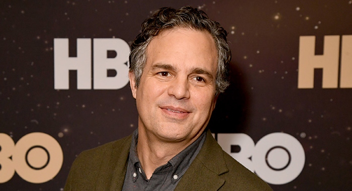 PASADENA, CALIFORNIA - JANUARY 15: Mark Ruffalo of 'I Know This Much Is True' poses in the green room during the 2020 Winter Television Critics Association Press Tour at The Langham Huntington, Pasadena on January 15, 2020 in Pasadena, California. 723750 (Photo by Jeff Kravitz/Getty Images for WarnerMedia)