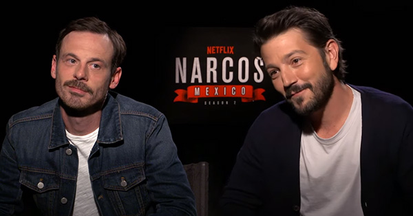 Diego Luna and Scoot McNairy on Crafting Epic Villains in <em>Narcos: Mexico</em> Season 2