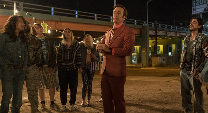 Bob Odenkirk as Jimmy McGill - Better Call Saul _ Season 5, Episode 1 - Photo Credit: Warrick Page/AMC/Sony Pictures Television
