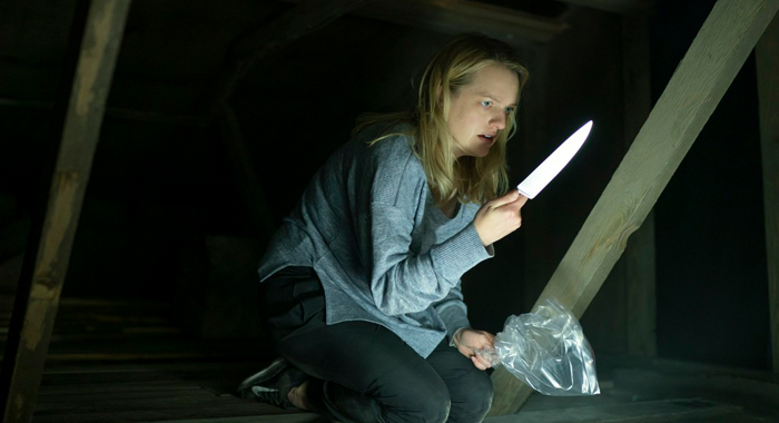 Elisabeth Moss as Cecelia Kass in The Invisible Man (2020)