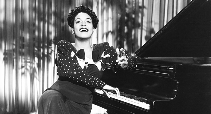 SOMETHING TO SHOUT ABOUT, Hazel Scott, 1943 (Courtesy Everett Collection)