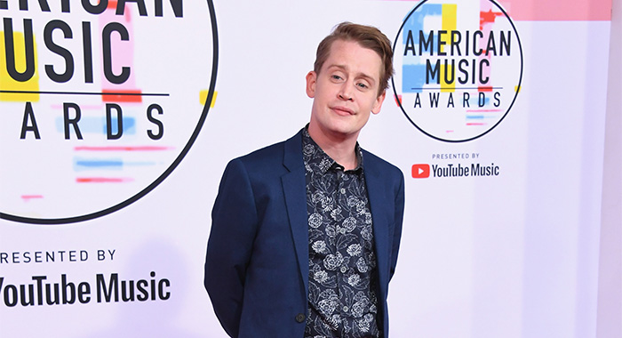 LOS ANGELES, CA - OCTOBER 09: Macaulay Culkin attends the 2018 American Music Awards at Microsoft Theater on October 9, 2018 in Los Angeles, California. (Photo by Jon Kopaloff/FilmMagic)