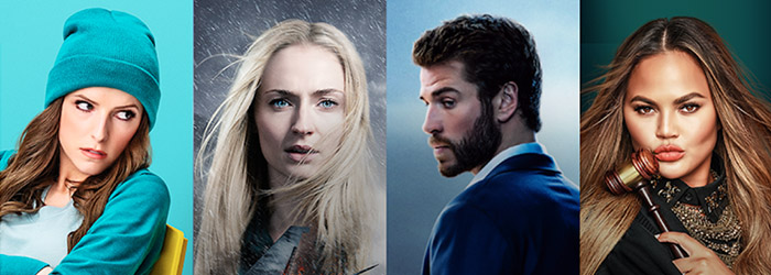 Anna Kendrick, Sophie Turner, Liam Hemsworth and Chrissy Tiegan star in Quibi series and movies