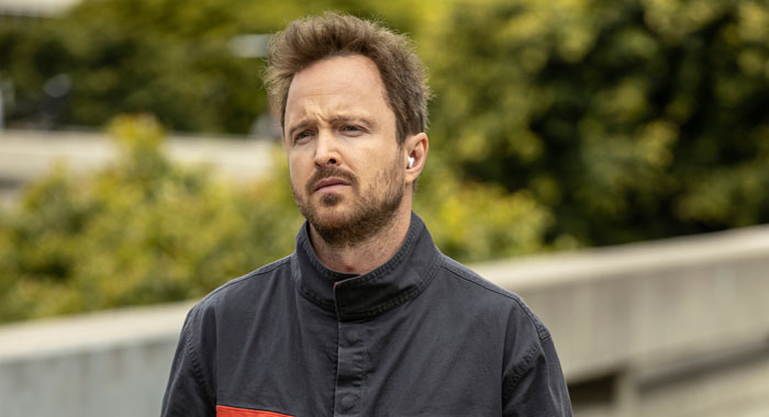 Aaron Paul in Westworld season 3 (John P. Johnson/HBO)
