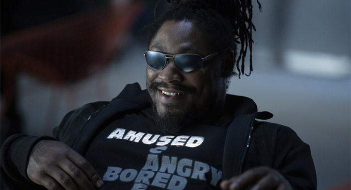 Photograph by John P. Johnson/HBO Marshawn Lynch HBO Westworld Season 3 - Episode 1