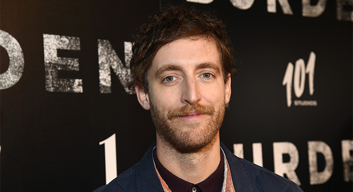 "LOS ANGELES, CALIFORNIA - FEBRUARY 27: Thomas Middleditch attends the LA screening of ""BURDEN"" on February 27, 2020 in Los Angeles, California. (Photo by Michael Kovac/Getty Images for 101 Studios)"