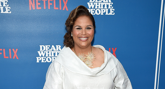 "Executive producer Yvette Lee Bowser attends the premiere of Netflix's ""Dear White People"" at Downtown Independent on April 27, 2017 in Los Angeles, California. (Photo by Michael Kovac/WireImage)"