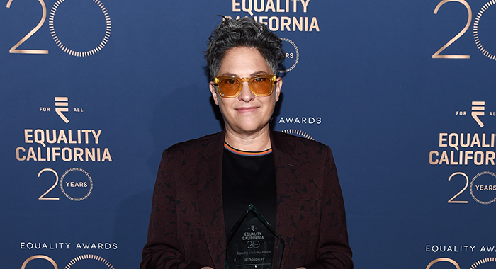 Jill Soloway arrives at the Equality California Los Angeles Equality Awards 20th Anniversary event at JW Marriott Los Angeles at L.A. LIVE on September 28, 2019 in Los Angeles, California. (Photo by Amanda Edwards/Getty Images)