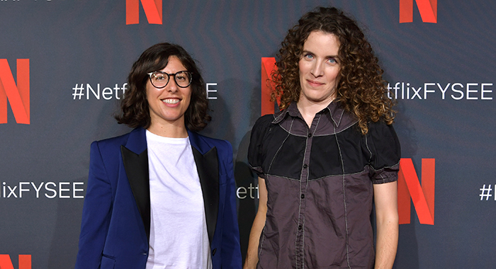 Carly Mensch and Liz Flahive attend Netflix FYSEE Change In Focus at Raleigh Studios on June 06, 2019 in Los Angeles, California. (Photo by Emma McIntyre/Getty Images for Netflix)