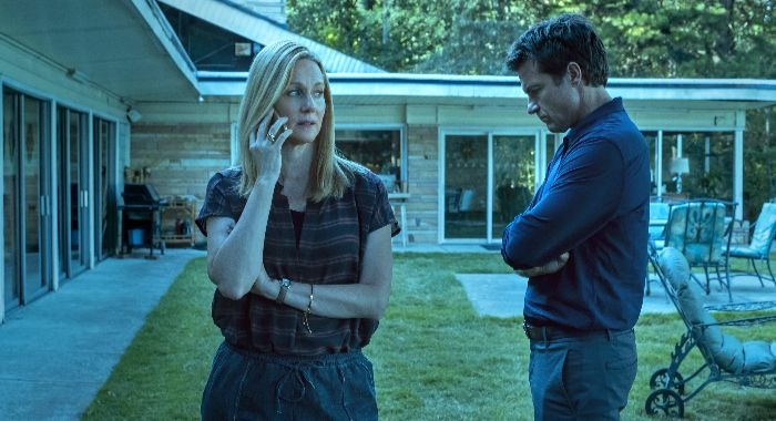Laura Linney and Jason Bateman in Ozark SEASON 3 EPISODE 10 PHOTO CREDIT Steve Deitl/Netflix