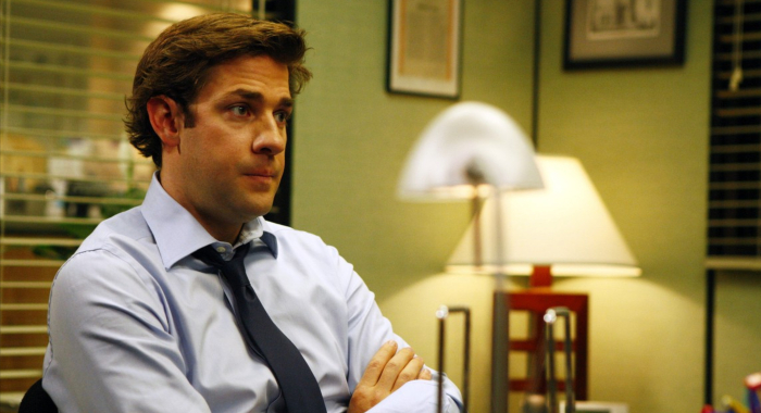 John Krasinski as Jim in The Office (NBC)