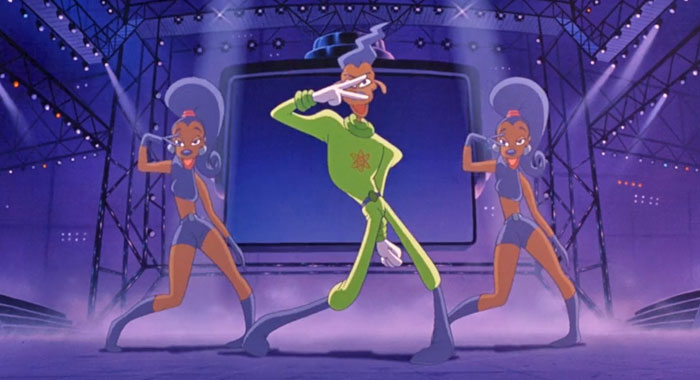 Powerline in A Goofy Movie