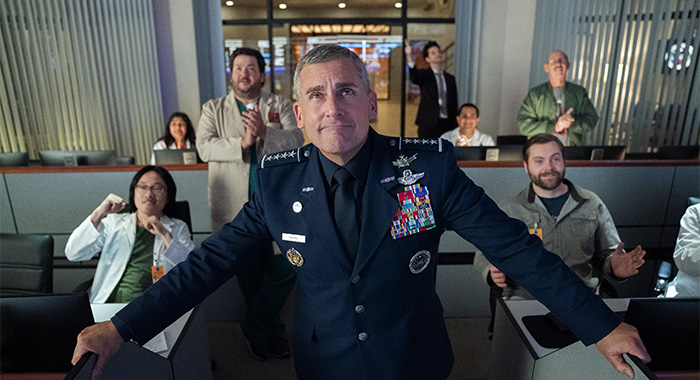 Steve Carell stars in Netflix series SPACE FORCE