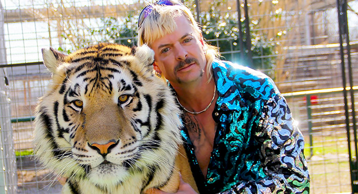 Tiger King: Murder, Mayhem and Madness SEASON All EPISODE - PHOTO CREDIT NETFLIX PICTURED Joe Exotic