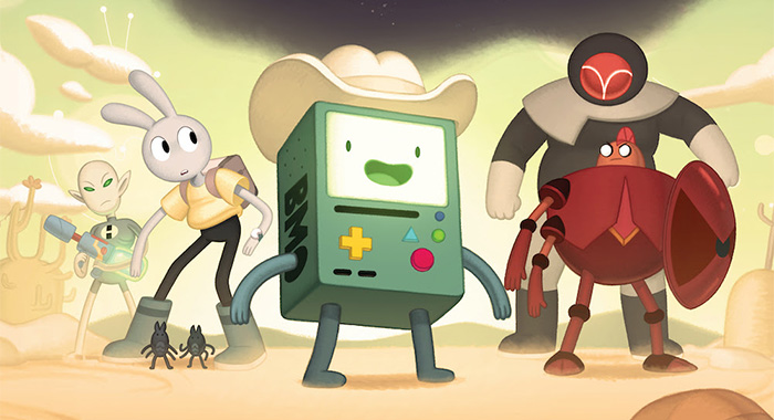 Adventure Time: Distant Lands - BMO keyart
