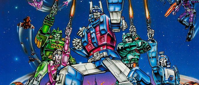 Poster for The Transformers: The Movie (1986)