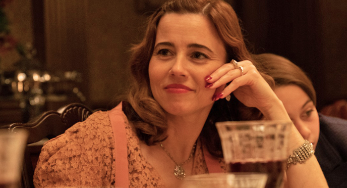 Linda Cardellini as Mae Capone in Capone