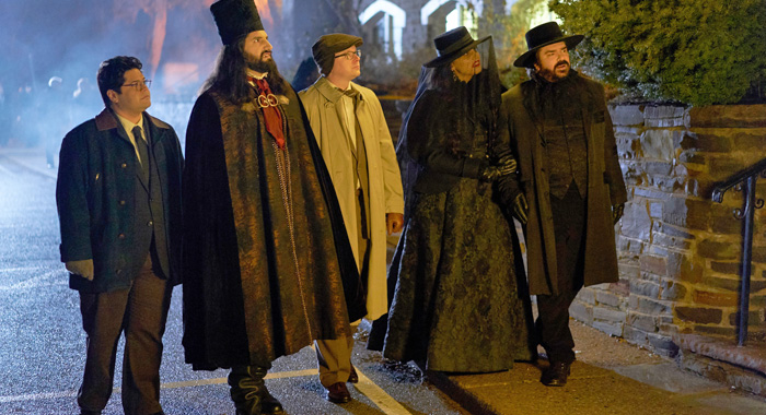 The cast of What We Do in the Shadows