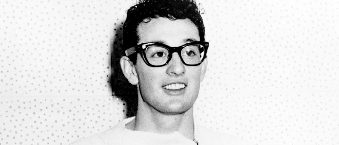 Buddy Holly in the 1950s
