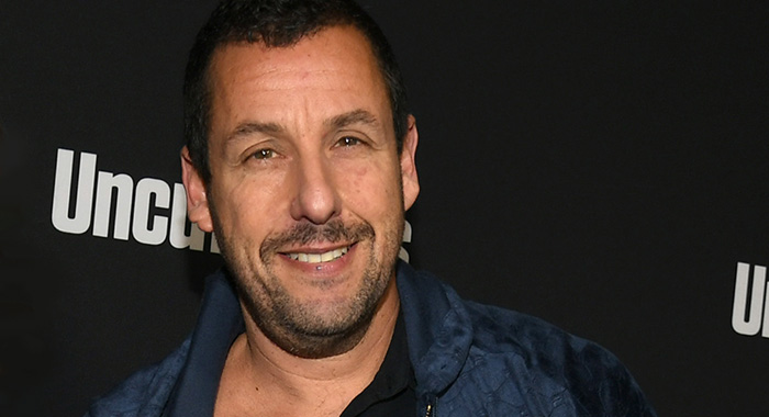 Adam Sandler in December 2019