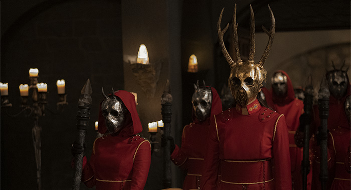 THE ORDER in episode, 208
