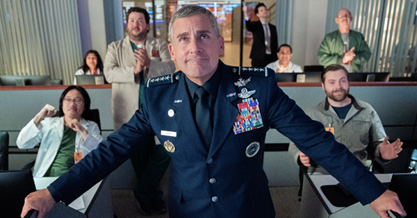 <em>Space Force</em> First Reviews: Steve Carell and John Malkovich Struggle To Make Netflix&#8217;s New Workplace Comedy Soar