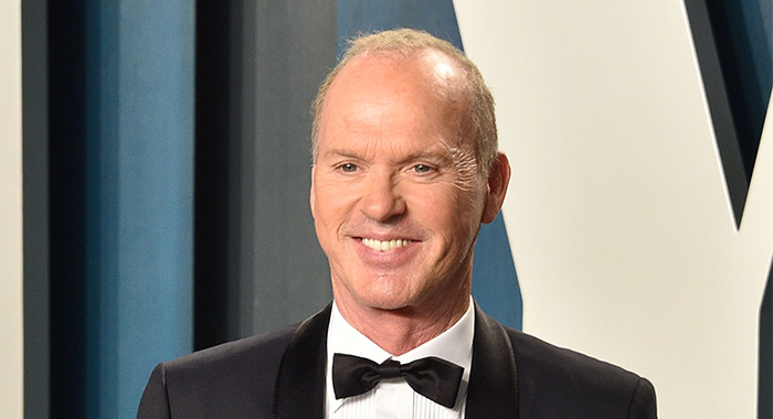 Michael Keaton attends the 2020 Vanity Fair Oscar Party