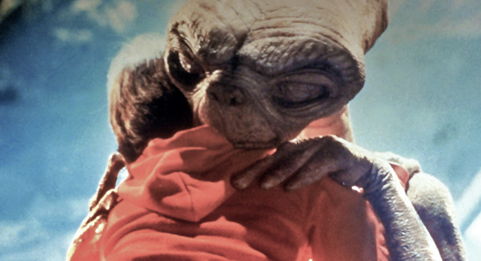 Henry Thomas an E.T. in E.T.