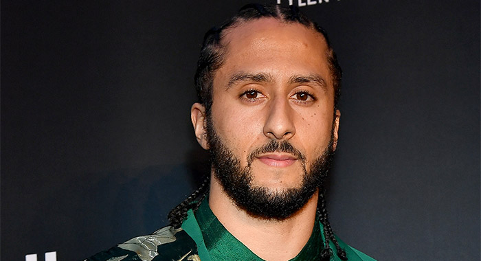 Colin Kaepernick in October 2019