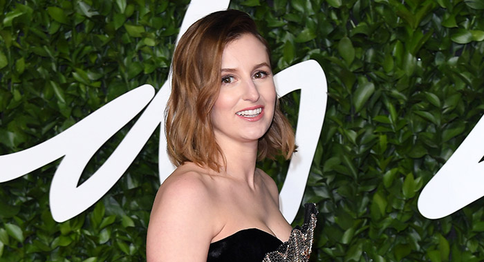 Laura Carmichael in Dec. 2019