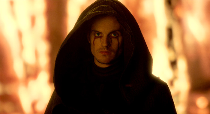 DANIEL SHARMAN as THE WEEPING MONK in episode 102 of CURSED
