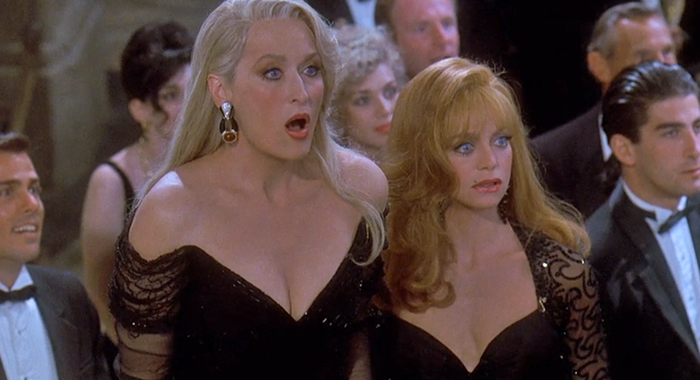 Meryl Streep and Goldie Hawn in Death Becomes Her