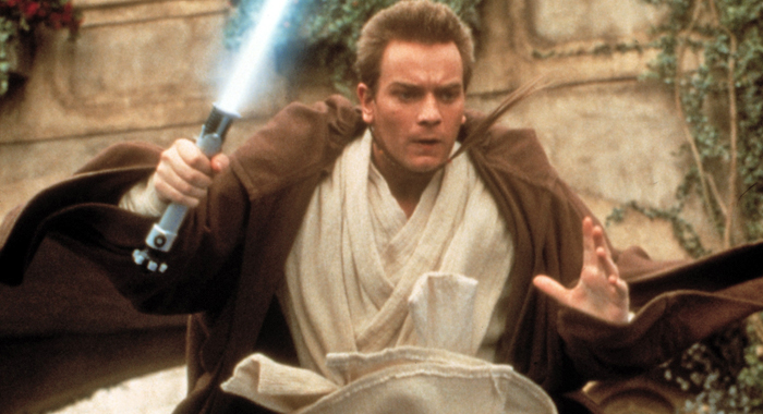 Ewan McGregor in Star Wars: Episode I - The Phantom Menace