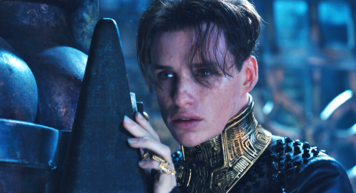 Eddie Redmayne in Jupiter Ascending